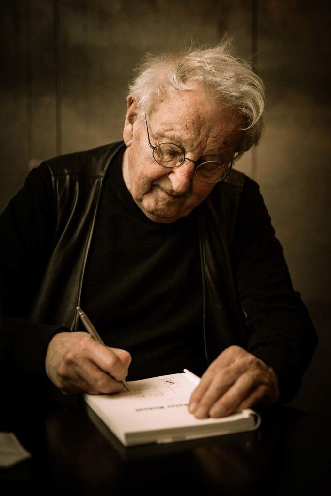 Peter Bichsel an Literaturveranstaltung
