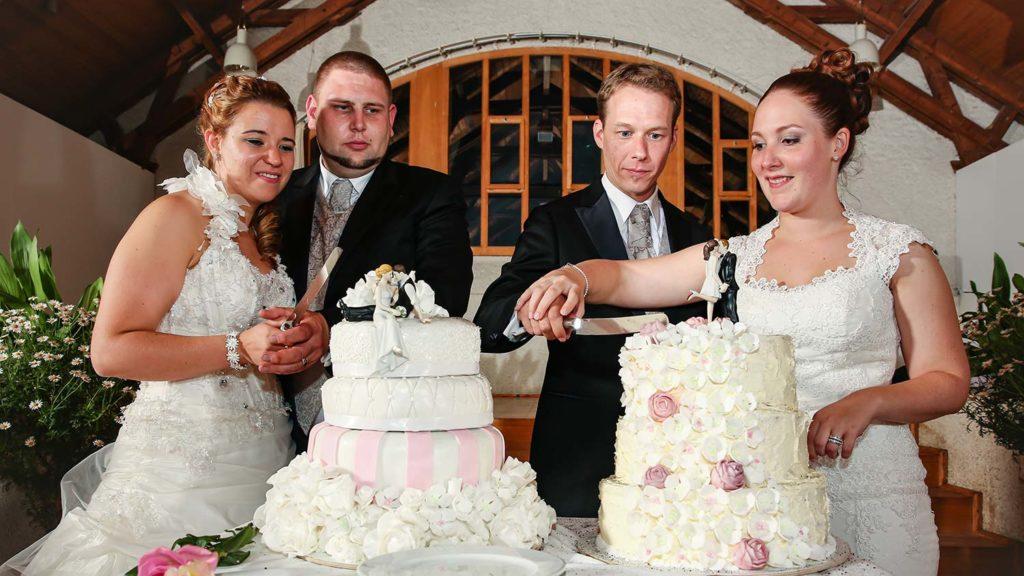 Hochzeit im Doppelpack