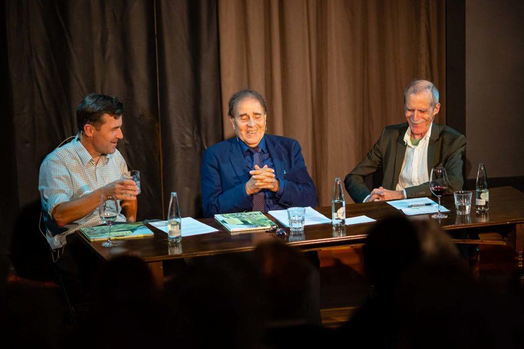 Peter Stamm und Hannes Minder im Gespräch micht Charles Linsmayer