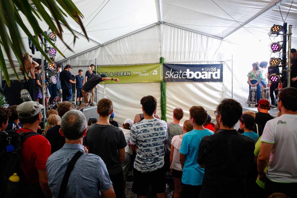 Swiss Skate Board