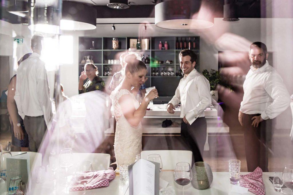 Hochzeitsparty in Zürich