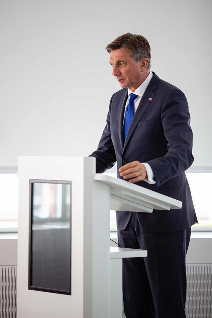 Präsident von Slowenien Borut Pahor