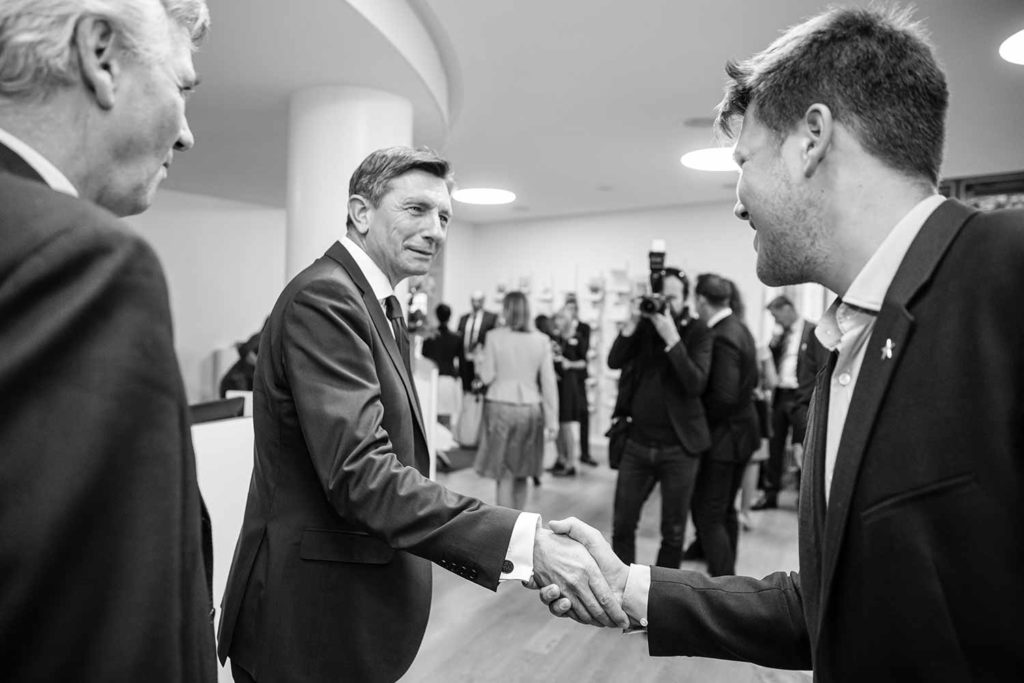 Event mit Borut Pahor