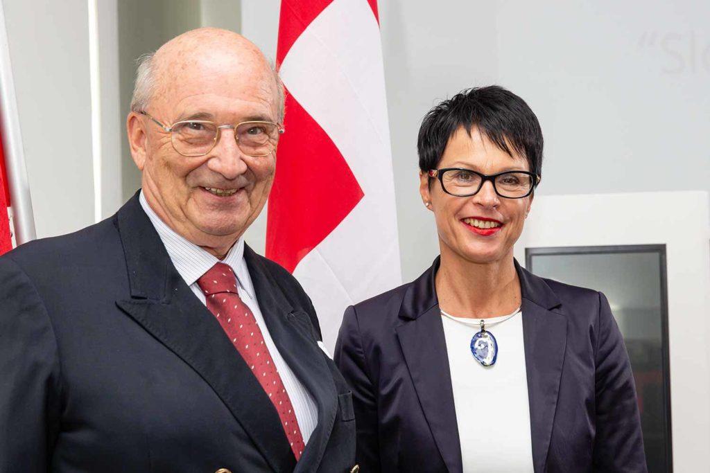 Dr. Richard Friedl und Marta Kos Marko