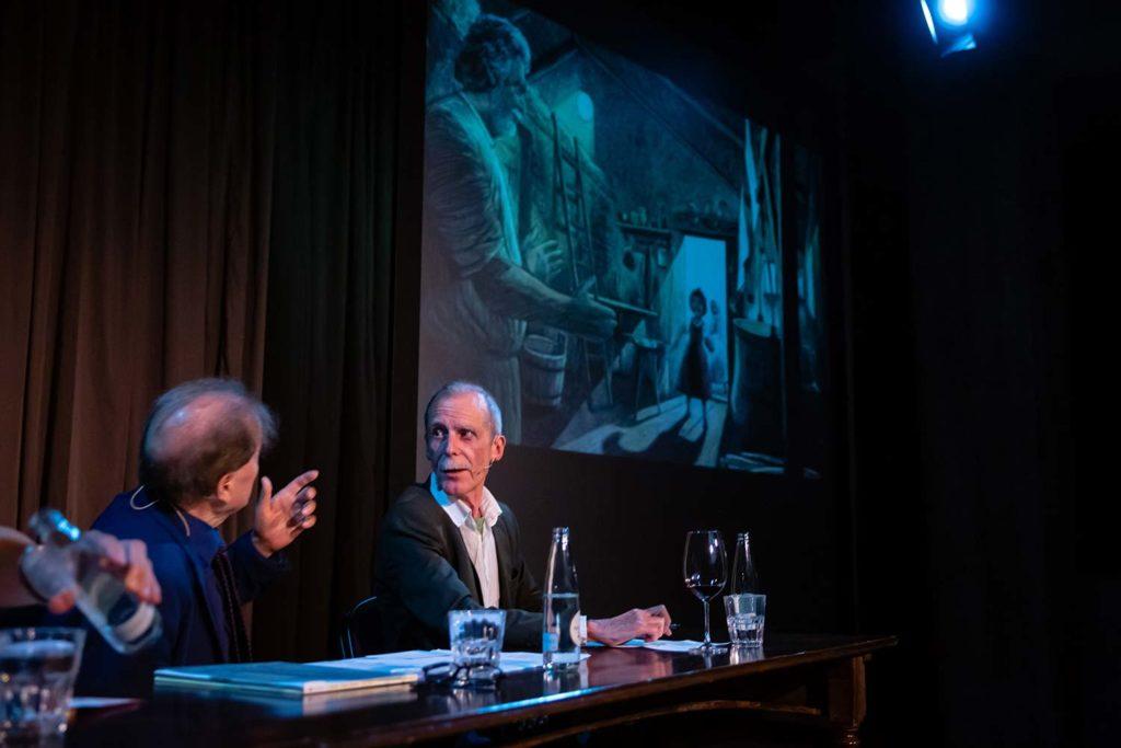 Hannes Minder, Literaturgespräch mit Charles Linsmayer