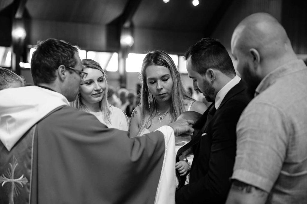 Taufe in der Kirche