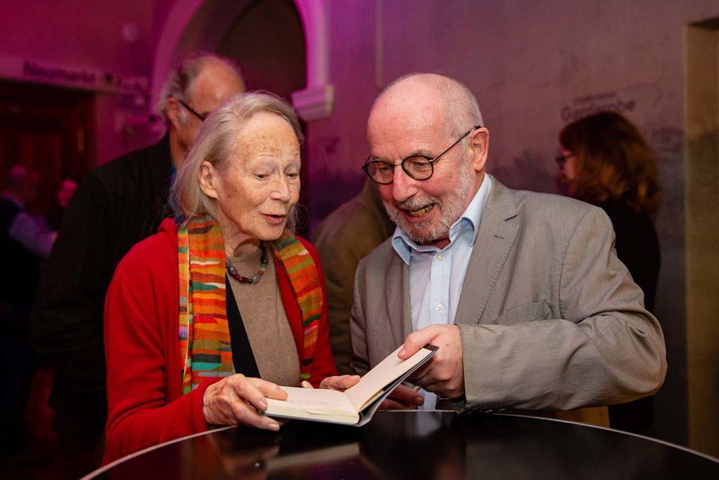 Thomas Hürlimann und Margrit Läubli im Theater am Neumarkt