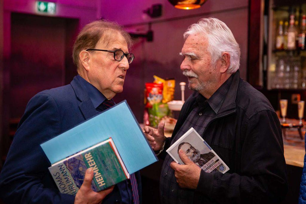Charles Linsmayer und Silver Hesse im Gespräch