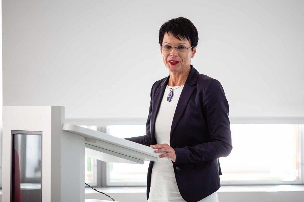 Botschafterin der Republik Slowenien, Marta Kos Marko