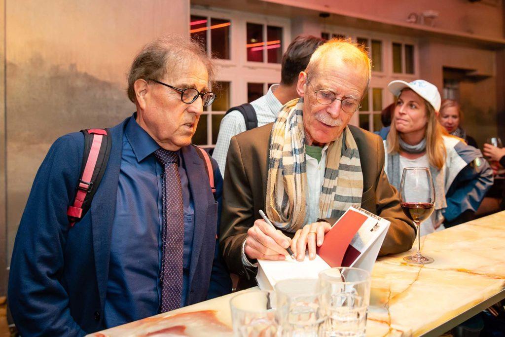 Hannes Minder und Charles Linsmayer