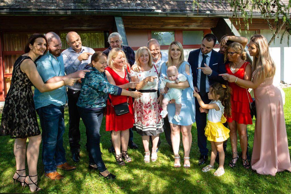 Gruppenfoto nach der Taufe