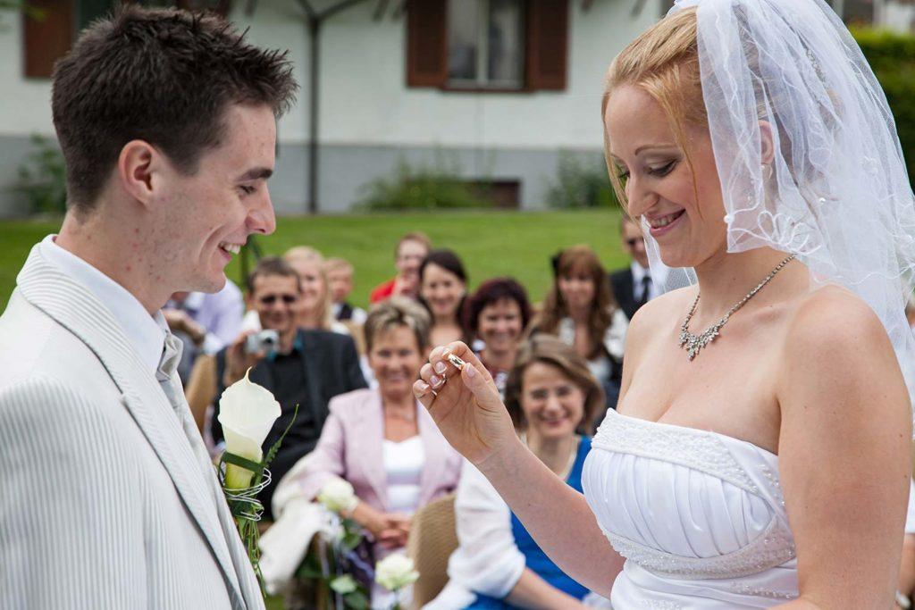 Es wird geheiratet Fotograf Zürich