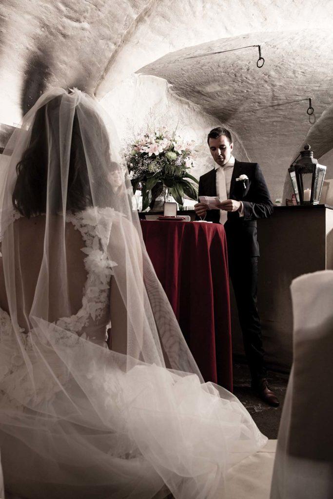 Hochzeitsgelübde vom Bräutigam
