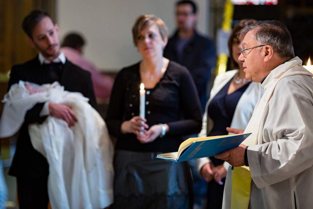 Predigt vor der Taufe
