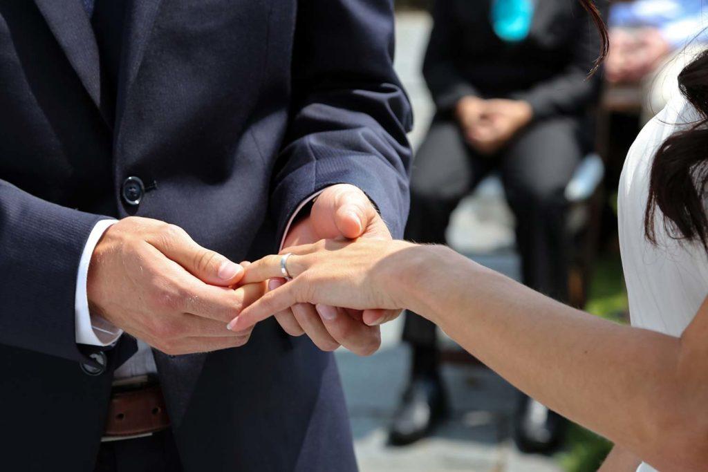 Ringzeremonie Hochzeit