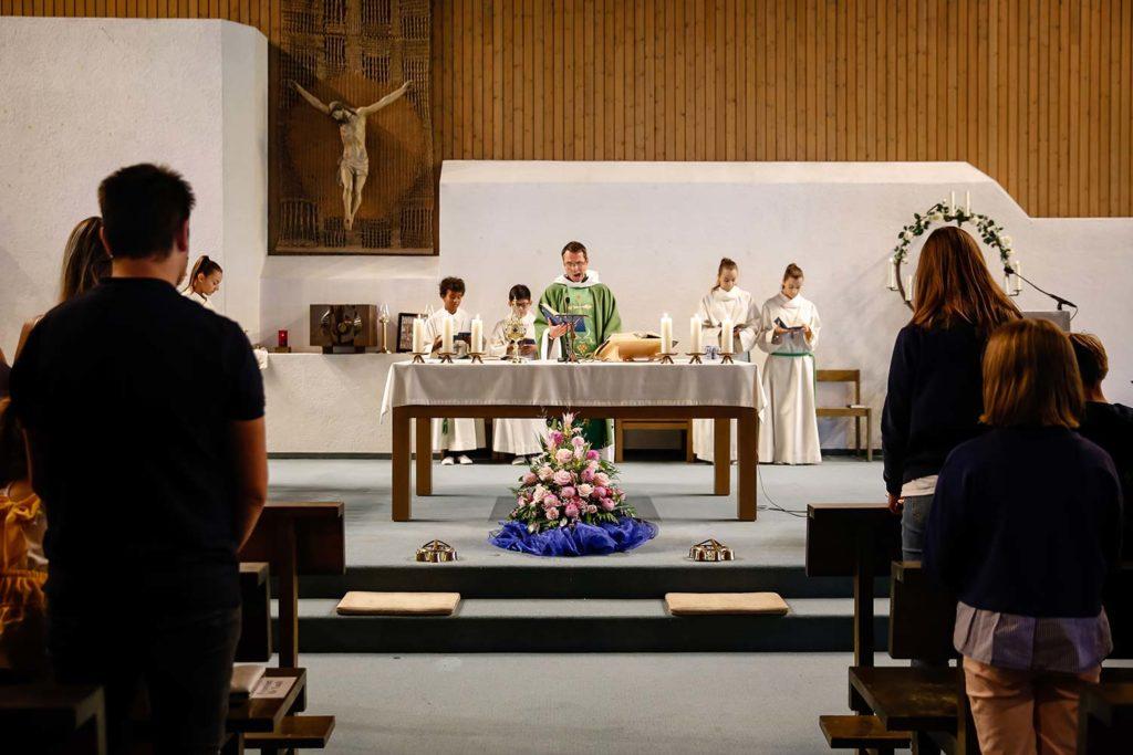 Katholische Taufe
