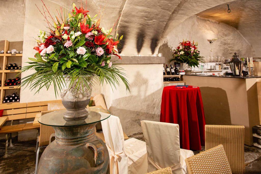 Die Weinschenke, eines der Traulokale der Stadt Zürich