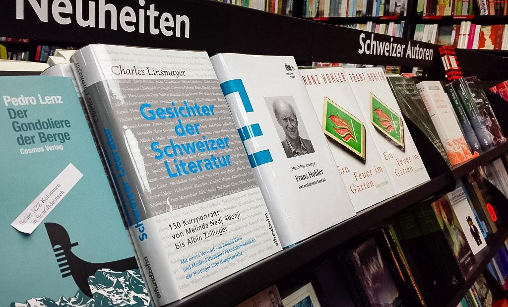 Gesichter der Schweizer Literatur