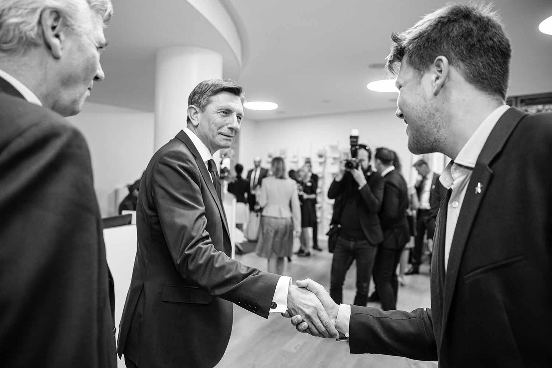Staatspräsident von Slowenien | Meet & Greet