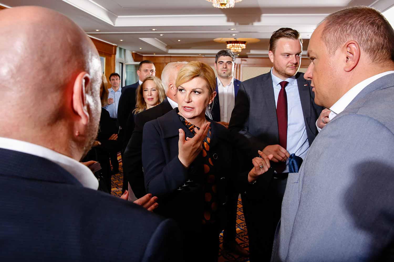 Staatspräsidentin von Kroatien Meet & Greet