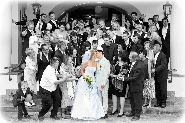 Hochzeit im Hotel Adula in Flims
